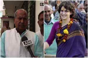 प्रियंका गांधी को 'स्कर्ट वाली बाई' कहने का मामला पहुंचा चुनाव आयोग