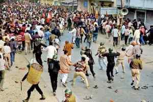 भाजपा की ममता विरोधी रैली पर लाठीचार्ज, आज सर्वदलीय बैठक