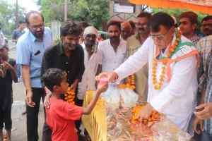 Muharram Image: जनसम्पर्क मंत्री मोहर्रम के जुलूस में शामिल हुए