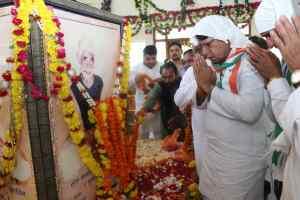 sant hirdaram sahib jayanti: संत जी की कुटिया में जनसंपर्क मंत्री ने लिया आशीर्वाद