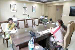 Mmeena singh : आदिवासी क्षेत्रों में पलायन रोकने रोजगार के अवसर बढ़ाने के निर्देश