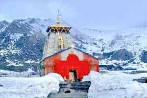 रुद्रप्रयागकेदारनाथ मंदिर के खोले गए कपाट