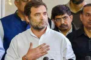 राहुल गांधी कोविड-19 संकट पर बोले – सिर्फ लॉकडाउन कोराना का इलाज नहीं