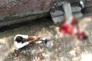 कासगंज में दिव्यांग ने पड़ोसी महिला की गोली मारकर हत्या की, वीडियो वायरल