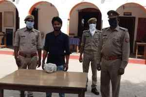 पुलिस द्वारा 50 किग्रा गोमांस के साथ 1 अभियुक्त गिरफ्तार